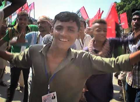 Watch: PPP workers dance-off in Karachi rally