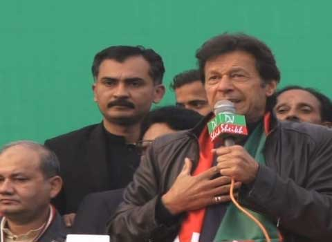 Imran Khan Lashes Out At Political Opponents