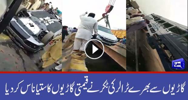 truck crash videos