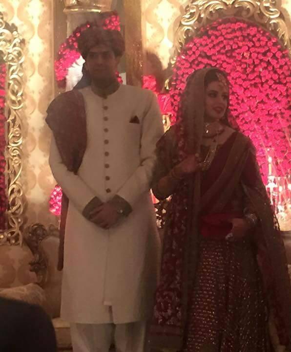 Wedding photos of Maryam Nawaz's daughter with husband - Pakistan