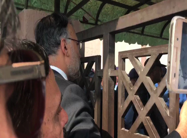 Interior minister, other cabinet members denied entry into accountability court premise