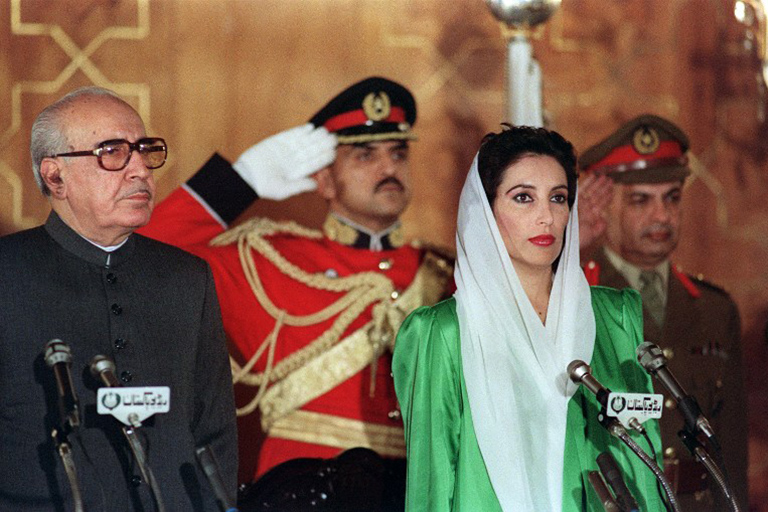 benazir bhutto young