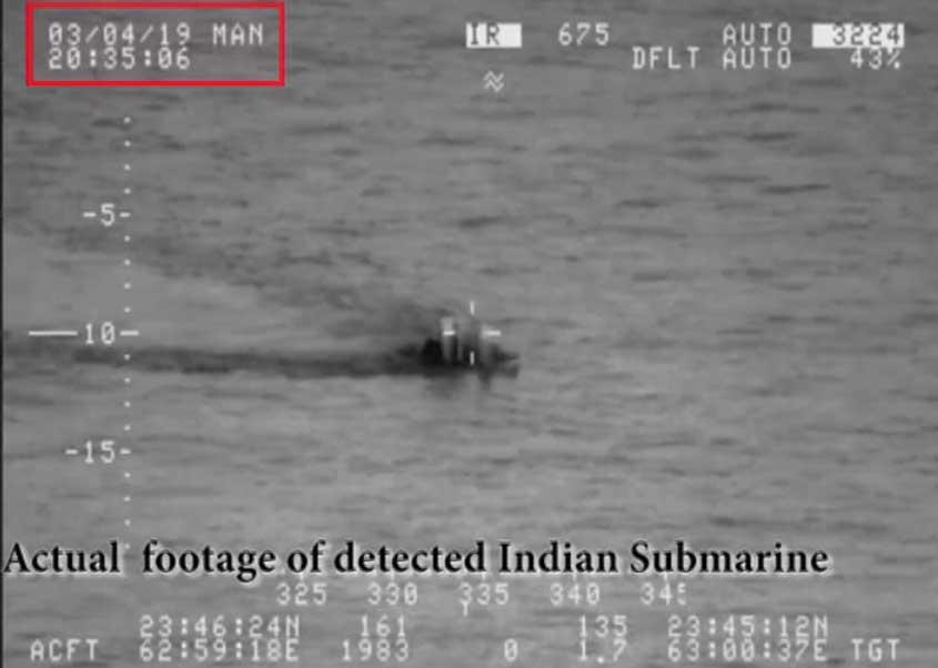 PAK Nevy 1 - بھارت کو سمندری محاذ پر بھی ناکامی، بحریہ نے انڈین آبدوز کا سراغ