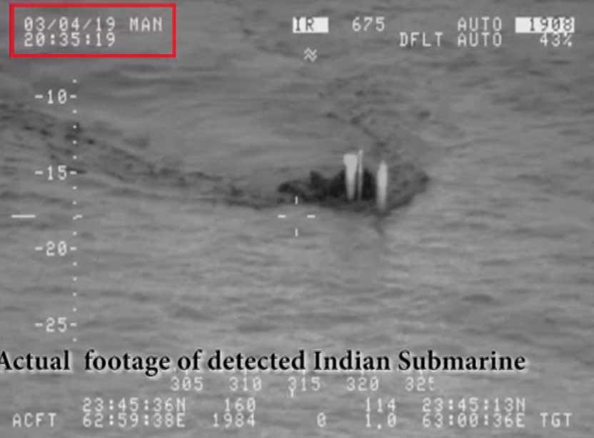 PAK Nevy 2 - بھارت کو سمندری محاذ پر بھی ناکامی، بحریہ نے انڈین آبدوز کا سراغ