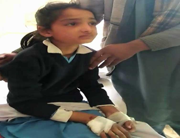 Pakistan protests over targeting of School Van by Indian troops