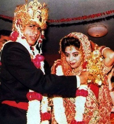 Later Shahrukh And Ayesha Married Each Other On October 25 1991 Under Hindu Tradition This Marriage Was Attended By The Close Relatives Of Both