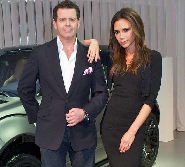 Victoria Beckham slammed by Land Rover designer for taking his credit