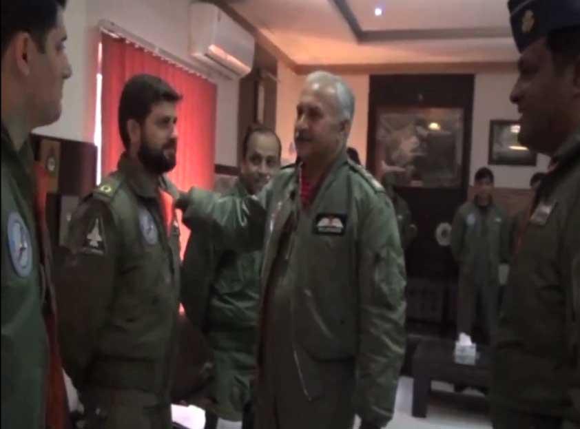 air chief mujhid anwar new 1 - جارحیت کا جواب دینے کیلئے تیار رہنا ہوگا: ایئر چیف مارشل