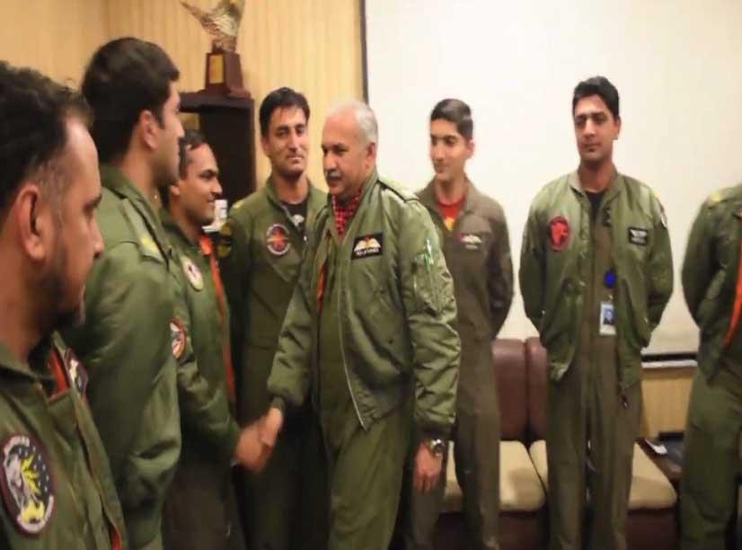 air chief mujhid anwar new 3 - جارحیت کا جواب دینے کیلئے تیار رہنا ہوگا: ایئر چیف مارشل