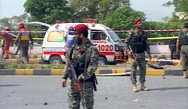 Pakistan News - Two Killed in Peshawar in Terrorist Attack