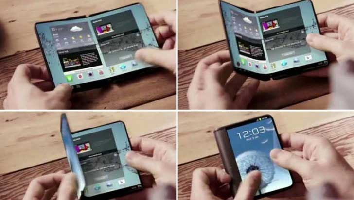 Image result for Samsung likely to unveil long-awaited foldable phone pictures in 2017