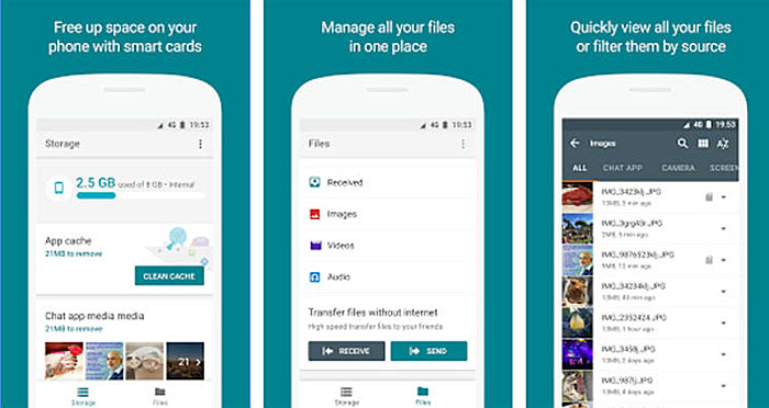 Google announces Files To Go, takes on ShareIt