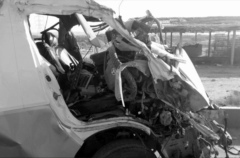 Seven killed in bus-trailer collision in Jamshoro