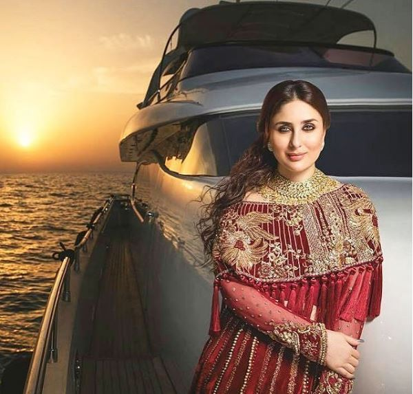 Look How Elegantly Kareena Kapoor Carries Pakistani Bridal Wear Entertainment Dunya News