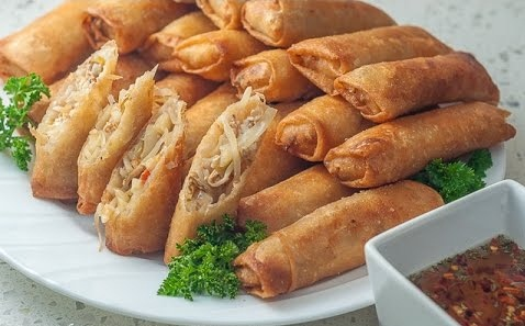 Seven lip smacking filipino dishes that will leave you wanting more also called spring roll lumpia comprises of fresh veggies filled with minced chicken photo youtube forumfinder Images