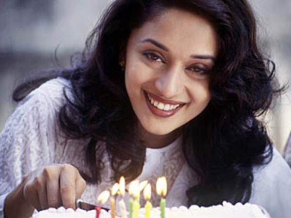 Birthday wishes to the queen of million dollar smile - Madhuri Dixit