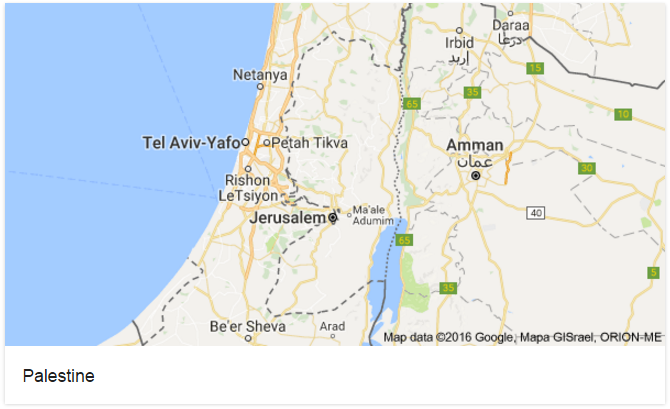 Google faces criticism for removing Palestine from maps ... on map of israel, google earth israel, bible map judah and israel, harpercollins israel, kibbutz israel, youtube israel, azotus israel, world map israel, mapquest israel, driving directions in israel, fotos de israel, we love israel,