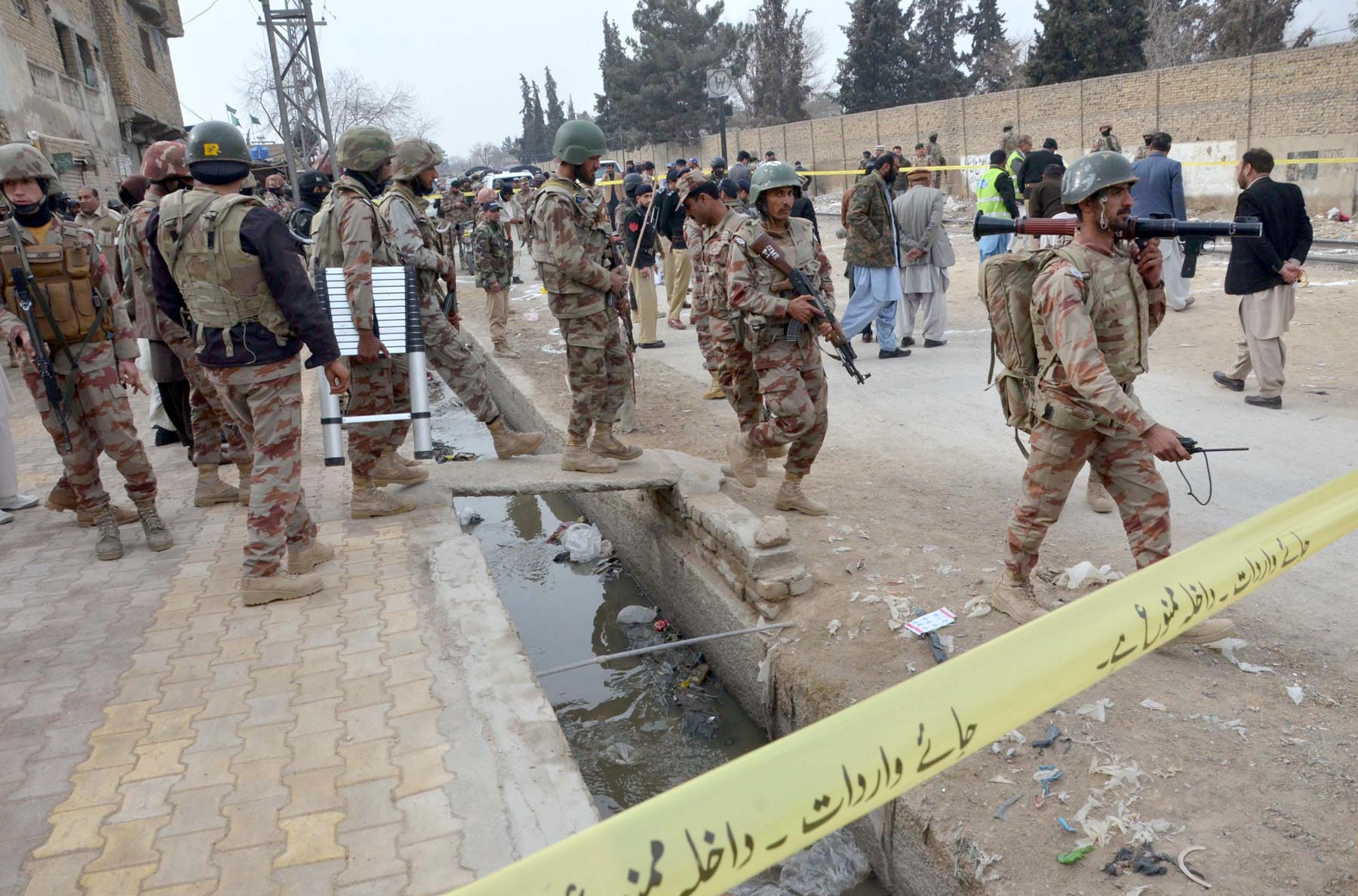 Four security officials martyred in Quetta terrorist attack