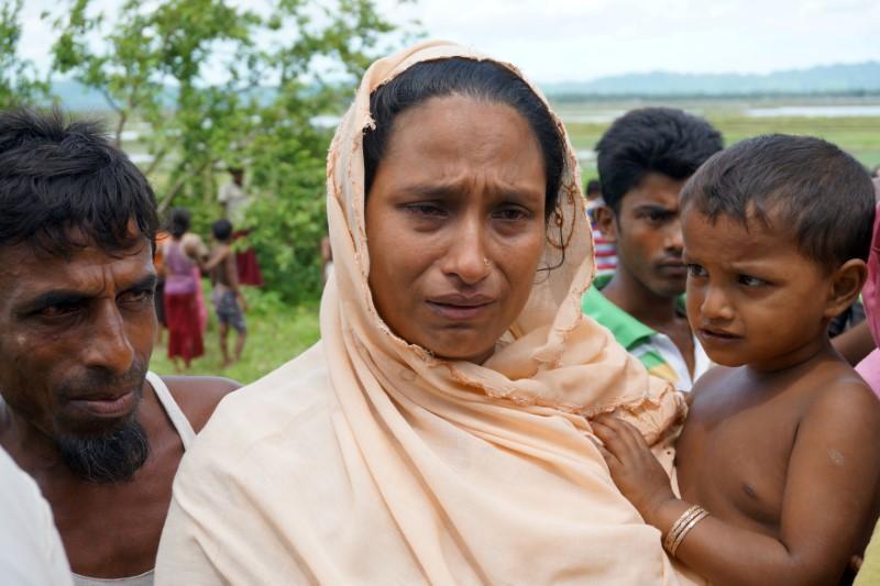 World News - Rohingya Women with Her Boy