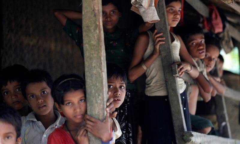 World News - Kids of Rohingya