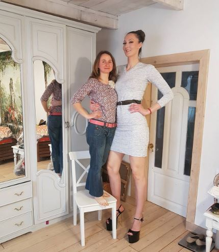 Tall russian girl
