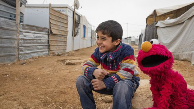 'Sesame Street' receives $100 million grant to help Syrian refugee children