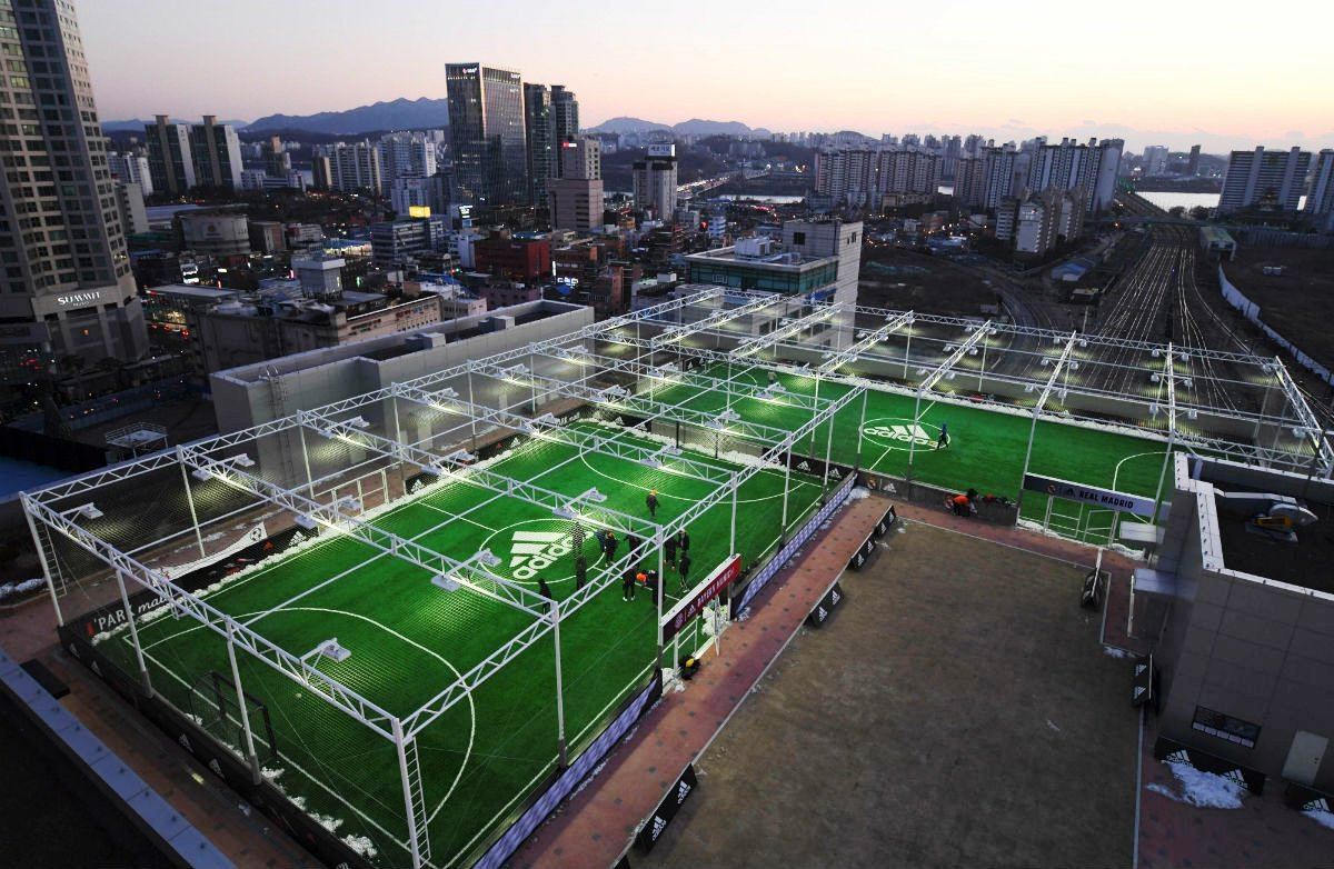 In Pictures: The Most Beautiful Football Grounds/Stadiums in the World 1