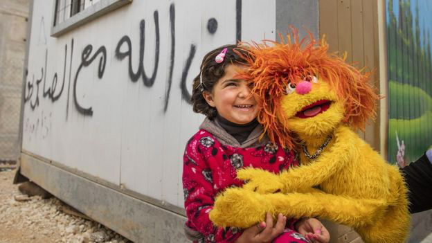 Sesame Street is designing a $100 million program specifically for Syrian refugees
