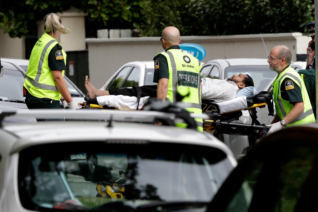 shooter in new 2 - نیوزی لینڈ: مساجد میں فائرنگ، 49 افراد جاں بحق، بنگلادیشی ٹیم محف