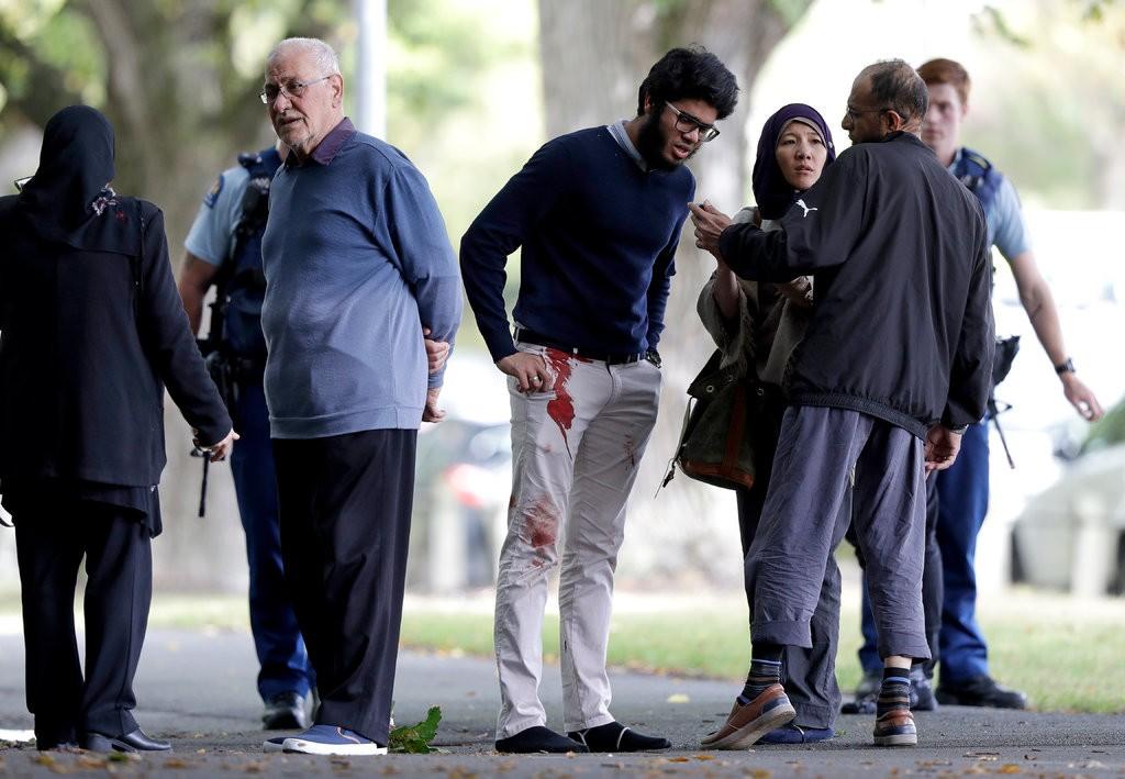 shooter in new 3 - نیوزی لینڈ: مساجد میں فائرنگ، 49 افراد جاں بحق، بنگلادیشی ٹیم محف