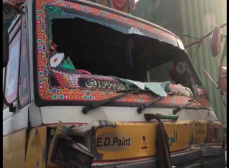 Bus slams into trailer in Pakistan, killing 11