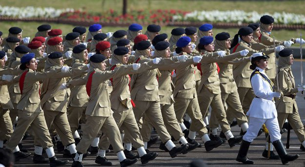 Pakistan Day Celebrated With Military Parade In Islamabad