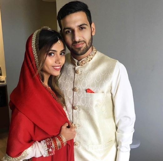 Internet sensation Zaid Ali T is officially married