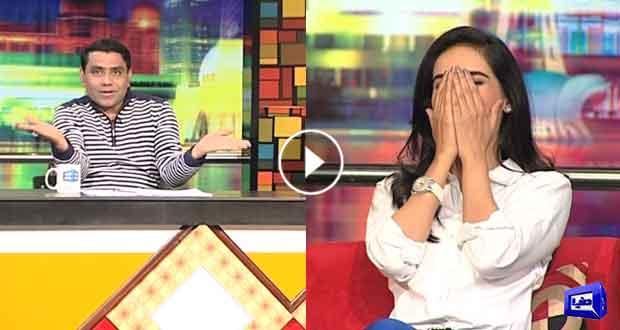 dunya news qaiser piya cracks jokes on mazaaq raat guest