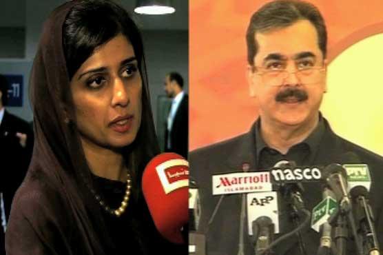Forcefully project Pak case at UN, Gilani tells Hina