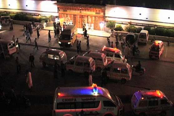 Dunya News: Pakistan:-Karachi: Groom among 10 killed in