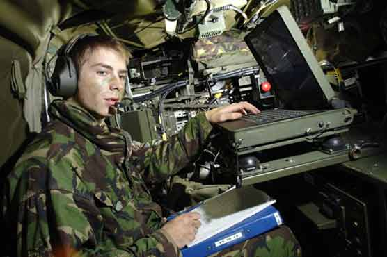 military dependence on Military Communication Technology