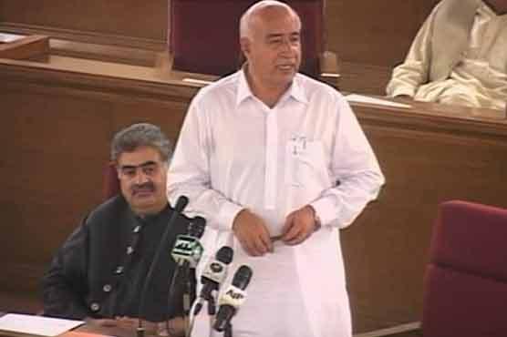 Balochistan CM vows to restore peace, scraps secret funds