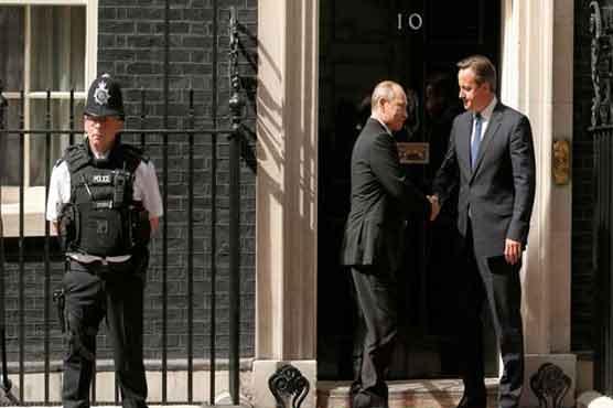 Dunya News: World:-UK's Cameron rallies world leaders to