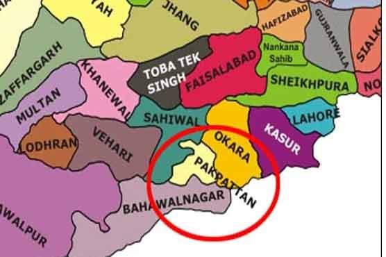Dunya News PakistanPakpattan Road Mishap Kills Women - Pakpattan map