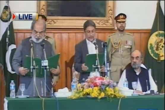 Barozai takes oath as caretaker CM Balochistan