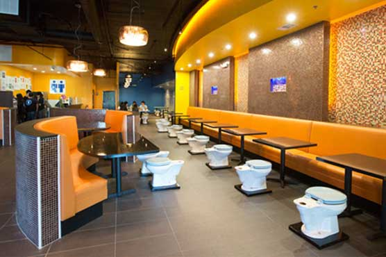 Toilet Themed Restaurant Opens In Los Angeles