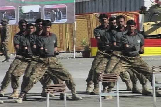 Passing out parade of Baloch recruits in Pak Army held in Quetta