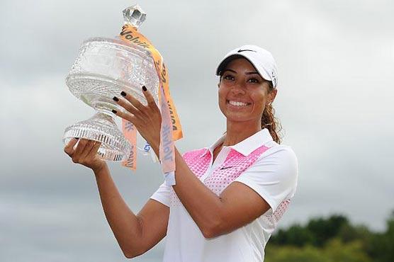 211542 79347861 - Golf: Tiger Woods' niece wins Australian Masters