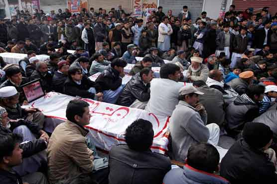 Mastung Tragedy: Bereaved families stage sit-in protest, refuse to bury dead