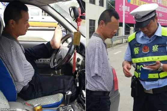 Armless China driver clocked up 160,000 kms: report