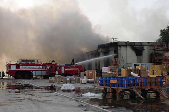Fire again erupts in Karachi airport's cargo godown