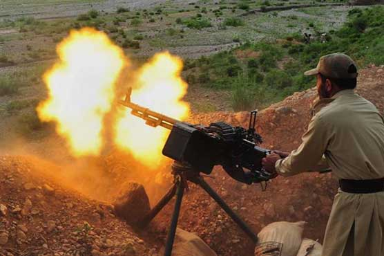 Indian forces violate LoC ceasefire at Batal Sector, Pak