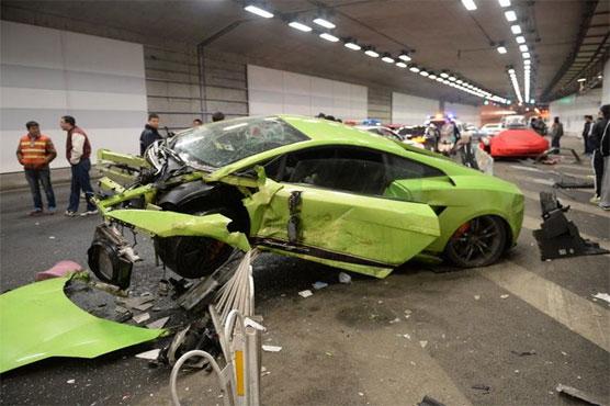 Lamborghini, Ferrari In U0027Fast And Furiousu0027 Beijing Crash