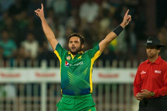 Afridi soars in T20I rankings despite England series whitewash